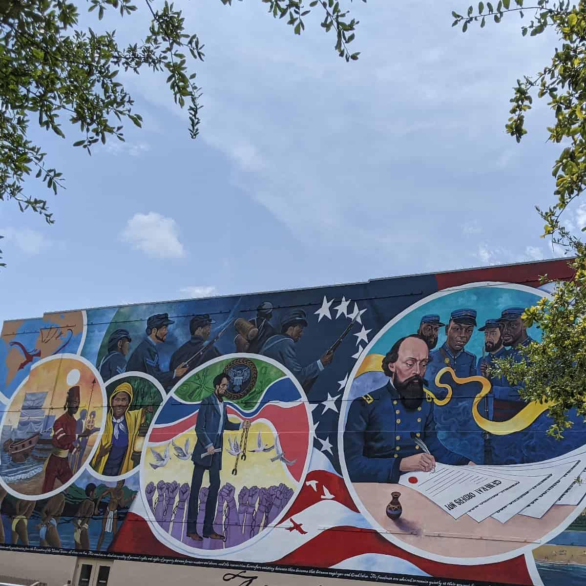 Galveston Juneteenth Mural