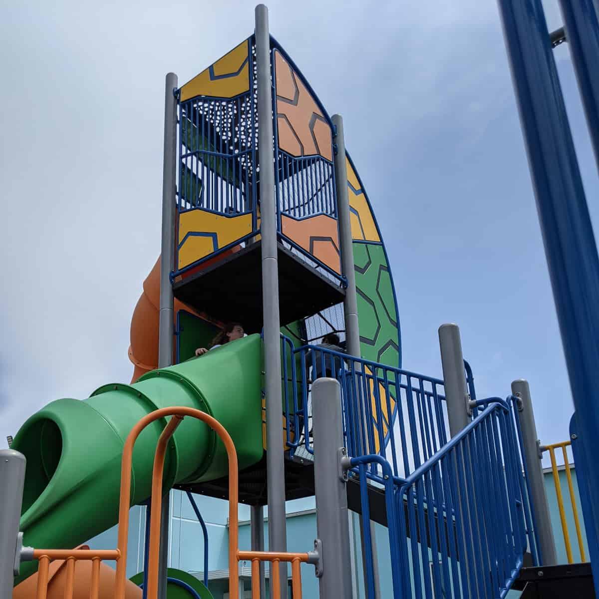 Menard Park Galveston Slides