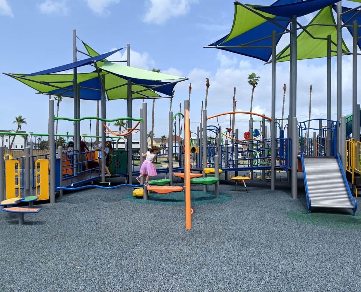 Menard Park Galveston Playground