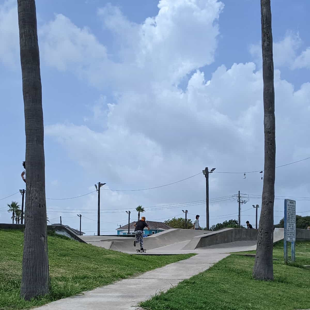 Menard Park Galveston Skate Park