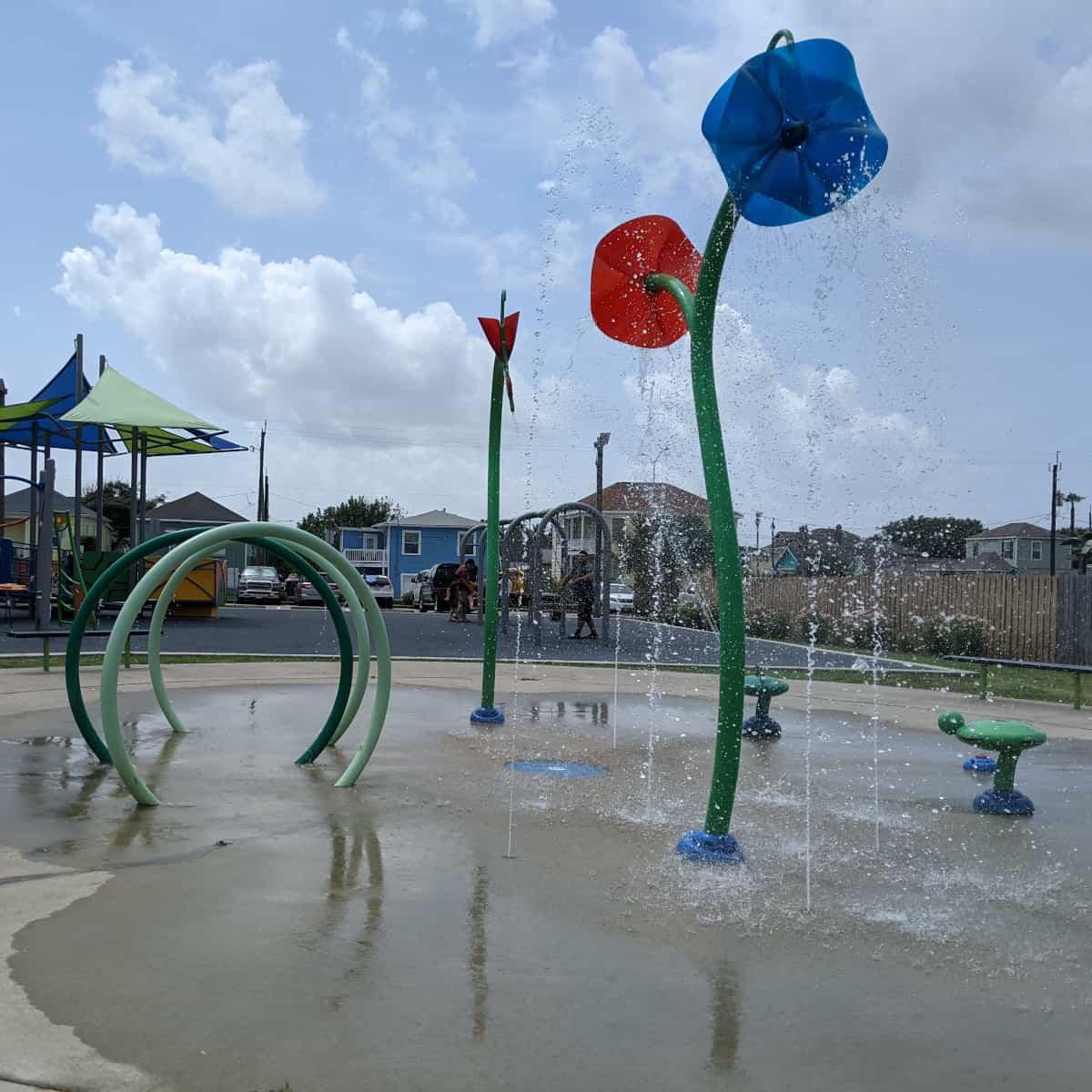 Menard Park Galveston Splashpad