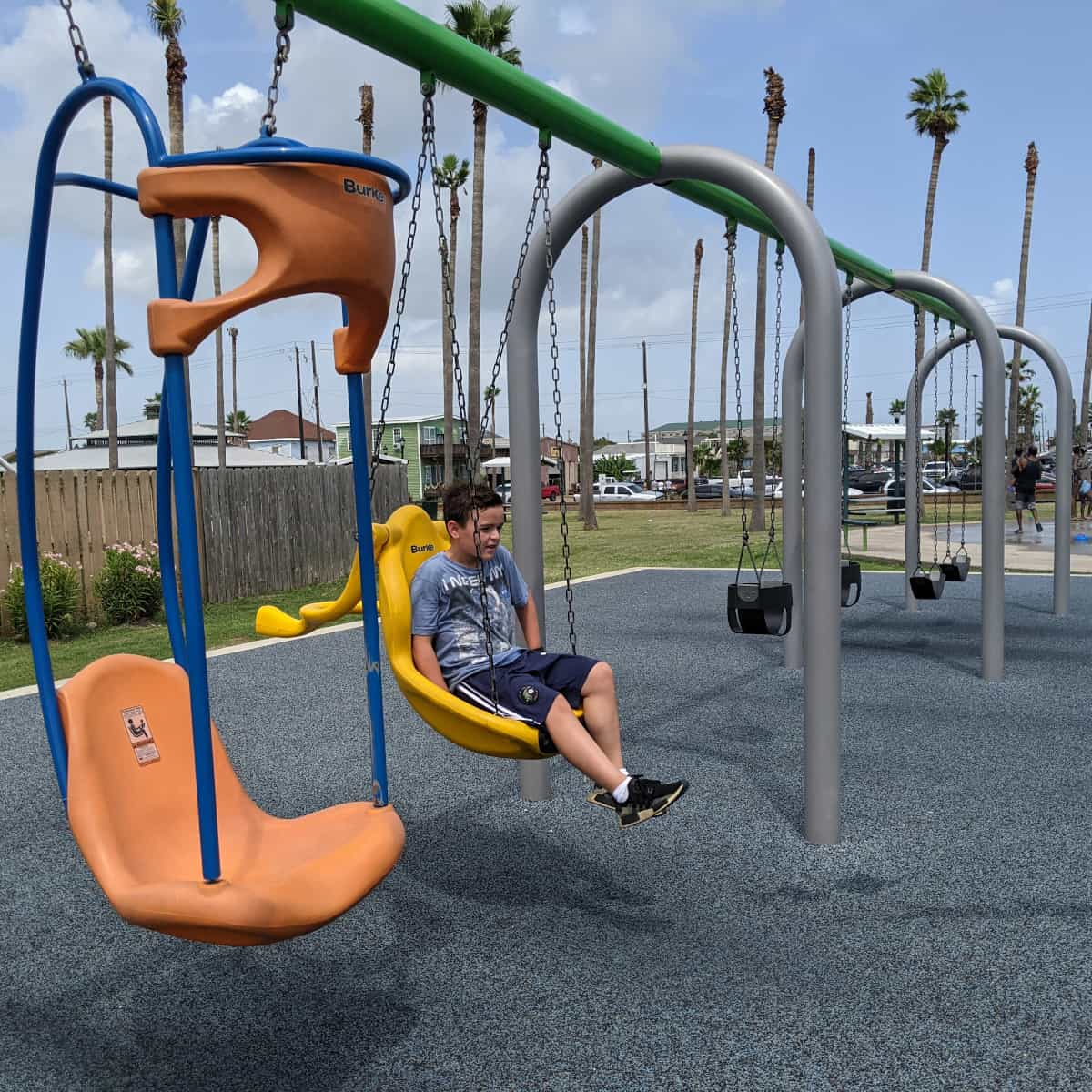 Menard Park Galveston Swings