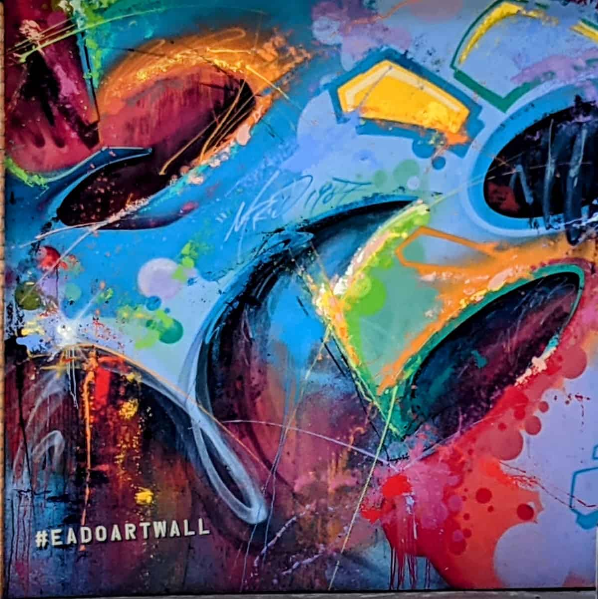 EaDo Art Wall Mural