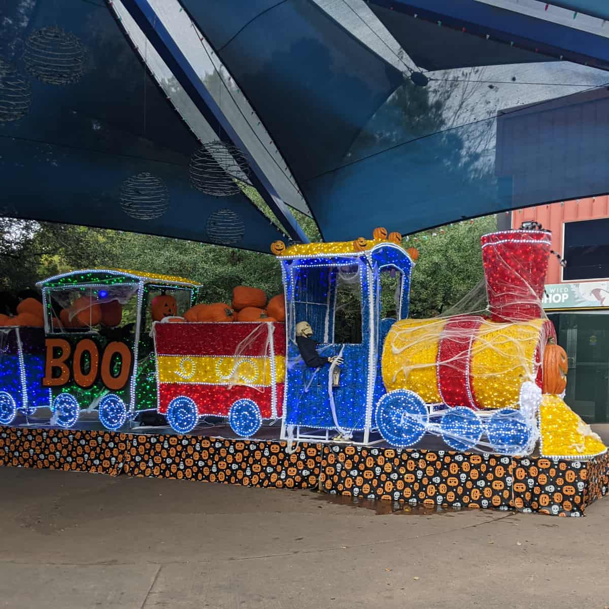 Houston Zoo Zoo Boo Spooky Train